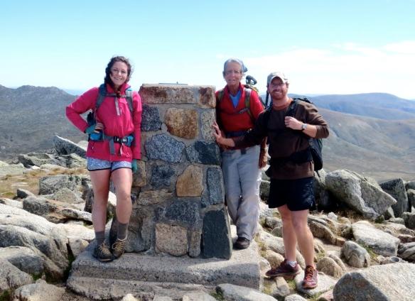Top of Mt. Kosiuzsko!